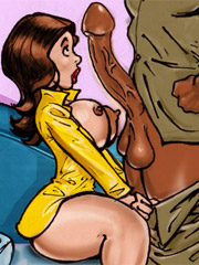 Xxx cartoon porn pics of sex hungry white cheecks wanna be used as fuck dolls by black guys.